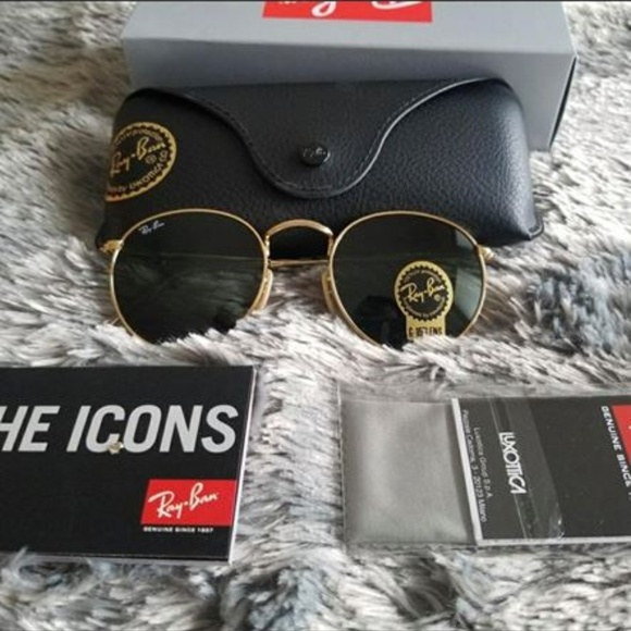 3da63ce49 Ray-Ban Accessories | New Authentic Rayban Rb3447 Round Metal | Poshmark